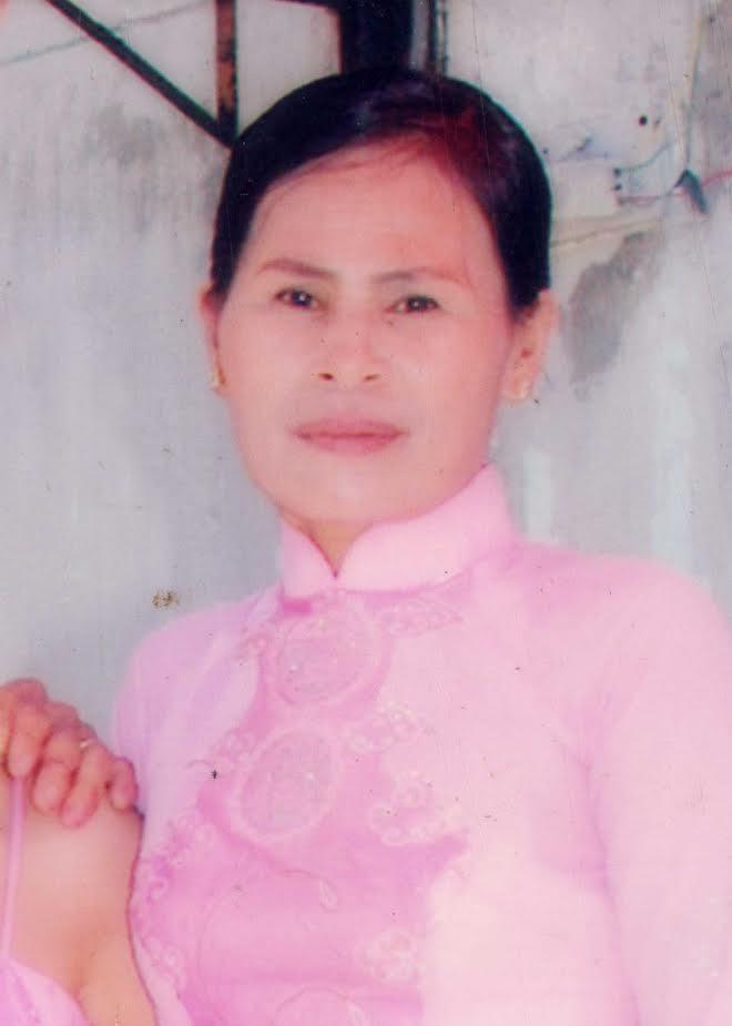 Nạn nhân Phạm Thị Lê lúc CHƯA TỰ THIÊU (ảnh; nạn nhân cung cấp)