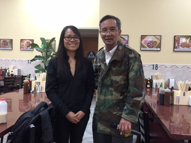 Ký giả Nghê Lữ phỏng vấn cô Hoàng Đăng Minh